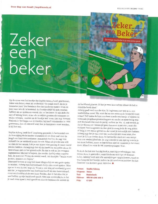 boekrecensie 2013 uit Tennis